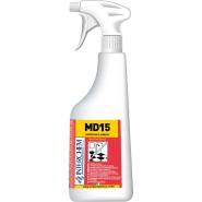 MD15 KIT - povrchový čistič a sanitizér, 6x40 ml+láhev