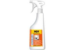 MD9 KIT - Ultra koncentrovaný alkalický koupelnový čistič, 6x40 ml+láhev