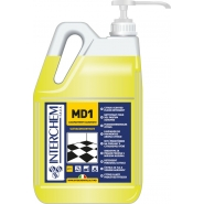 MD1 - BOX 2x 5l + pumpa, Super koncentrovaný čistič podlah s citrusovou vůní, pumpa 20 ml