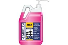 MD2 - BOX 2x 5l + pumpa, Super koncentrovaný čistič podlah s květinovou vůní, pumpa 20 ml