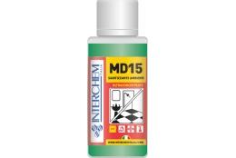 MD15 - dávka 40 ml (pro 1 lahev), Super koncentrovaný povrchový čistič a sanitizér