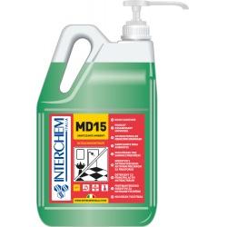 MD15 -BOX 2x 5l +pumpa, Super koncentrovaný povrchový čistič a sanitizér, pumpa 20 ml