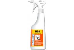 MD8 KIT - Ultra koncentrovaný koupelnový čistič se svěží vůní, 6x40 ml+láhev