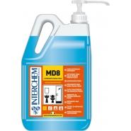 MD8 - BOX 2x 5l + pumpa, Ultra koncentrovaný koupelnový čistič se svěží vůní, pumpa 30 ml