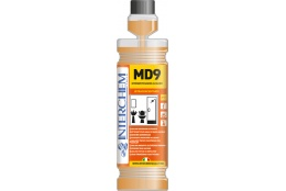 MD9 - láhev 1l, Ultra koncentrovaný alkalický koupelnový čistič