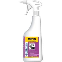 MD10 KIT - 6 náplní + láhev
