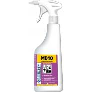 MD10 KIT - Ultra koncentrovaný odstraňovač vodního kamene, 6x40 ml+láhev