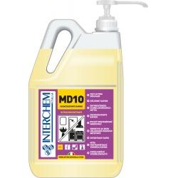 MD10 - BOX 2x 5l + pumpa, Ultra koncentrovaný odstraňovač vodního kamene, pumpa 30 ml
