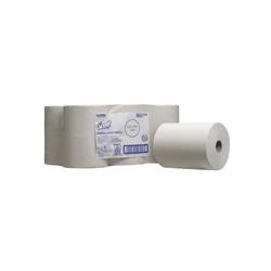 SCOTT® SLIMROLL* Papírové ručníky - bílá