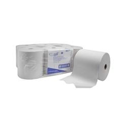 SCOTT - ručníky v roli, 1vrstvé, bílé
