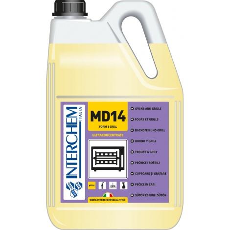 MD14 - BOX 2x 5l, Ultra koncentrovaný čistič sporáku a grilu
