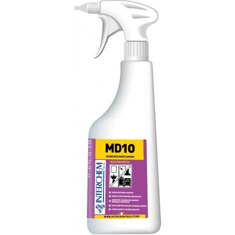 MD10 - láhev na ředění s rozprašovačem