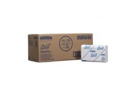 SCOTT® SLIMFOLD Papírové ručníky - M sklad / bílá