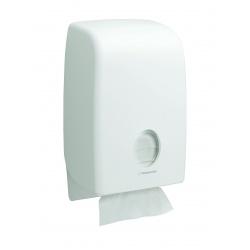 AQUARIUS* Zásobník na skládané papírové ručníky - prokládaný / bílá