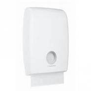 AQUARIUS* SLIMFOLD Zásobník na skládané papírové ručníky - bílá