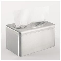 KIMBERLY–CLARK PROFESSIONAL* Nerezový zásobník na papírové utěrky – POP–UP krabice / stříbrná /Malá