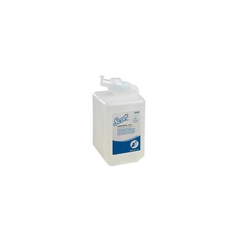 SCOTT® Luxusní pěnové antibakteriální mýdlo na ruce - kazeta / čirá /Jednolitrová
