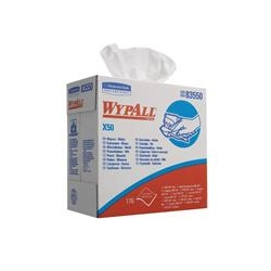 WYPALL* X50 Utěrky – POP–UP krabice / bílá - Karton