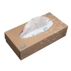 SCOTT® Kosmetické kapesníčky – standardní / bílá - Karton