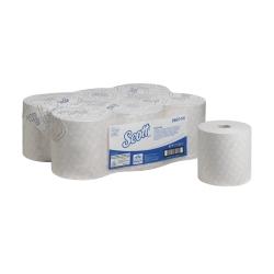 SCOTT® ESSENTIAL Papírové ručníky - role / bílá, 6 rl./kt., 350m/rl