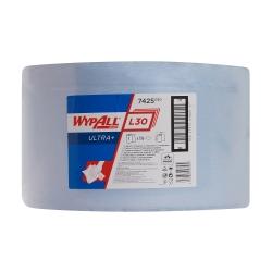 WYPALL L30 +Utěrky – velká role, modrá, 3vr. 750 útr.
