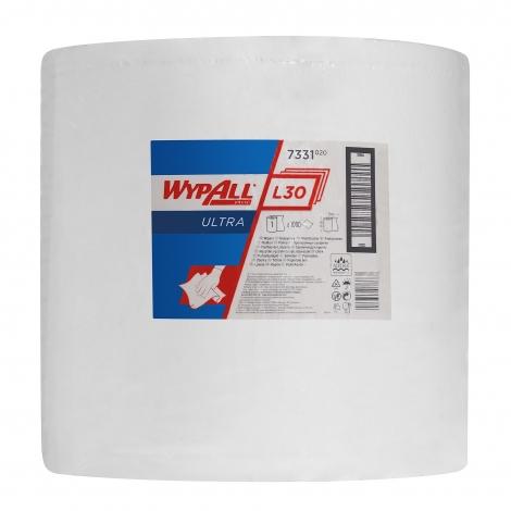KIMBERLY-CLARK WYPALL L30 Ultra Utěrky - velká role, 38 x 37 cm, 1000 útr./rl.