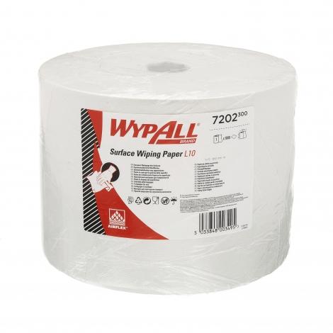 WYPALL L10 EXTRA+ Utěrky – velká role / bílá