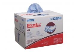 WYPALL – X90 - Utěrky v Brag krabici, 136 ks, 2 vr., modré