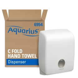 KIMBERLY–CLARK – AQUARIUS – Zásobník na skládané ručníky C sklad